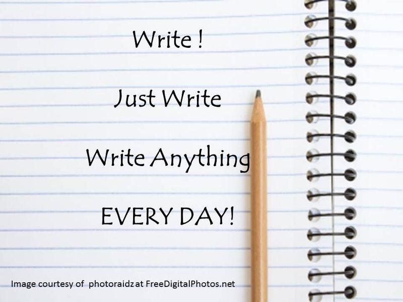 JUST WRITE new year 2015