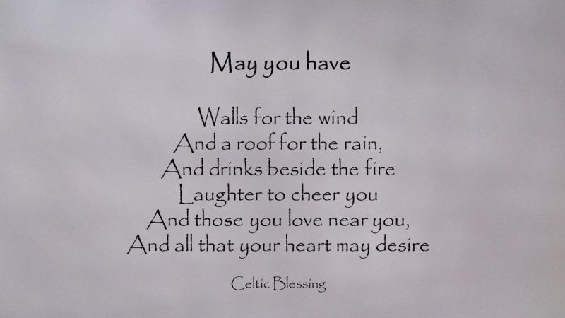 Celtic blessing feb 28