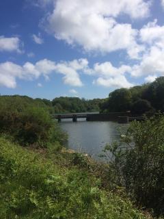 Queen's Valley upper reservoir