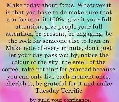 Terrific Tuesday