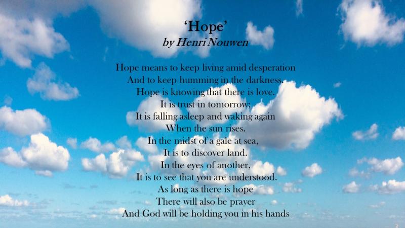 Hope Henri Nouwen